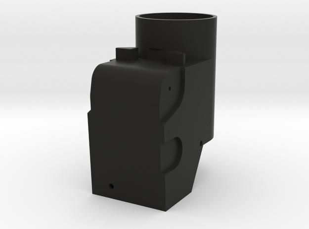 Revi12 Body in Black Natural Versatile Plastic