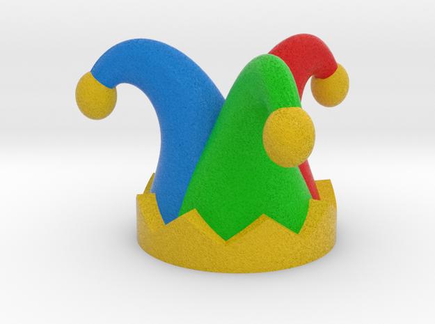 Jester Hat in Full Color Sandstone