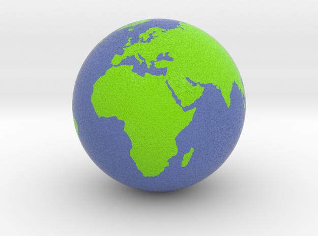 Globe in Full Color Sandstone