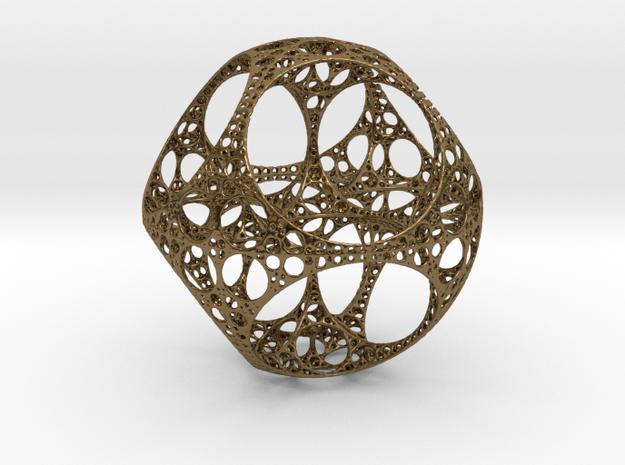 Apollonian Octahedron - Thin 3d printed
