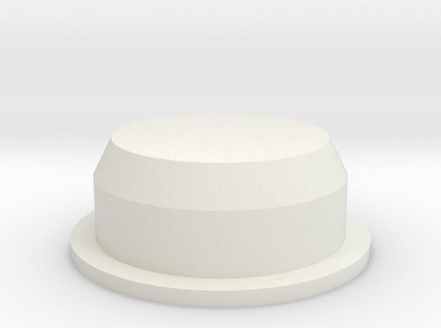 Cap for Salt and Pepper Shaker in White Strong & Flexible