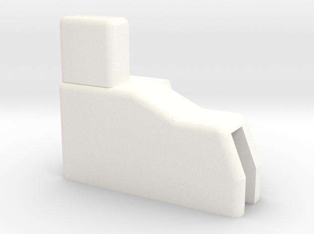 Subaru Outback 1998-2003 (RIGHT SIDE) side cargo c in White Processed Versatile Plastic