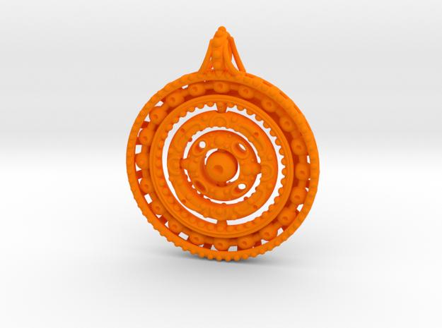 Gyroscope Mandala Pendant