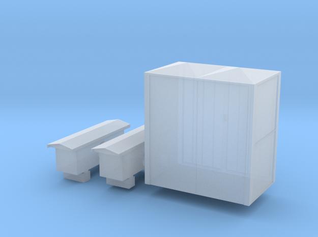 Armoire électrique 1 in Smooth Fine Detail Plastic