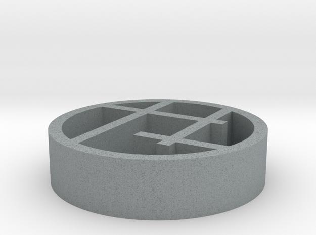 Serra pendant large 3d printed