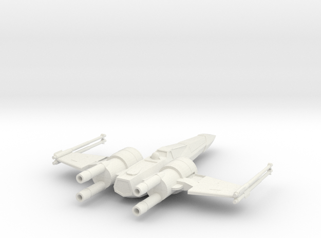 Space Superiority Fighter 7 Closed Wings