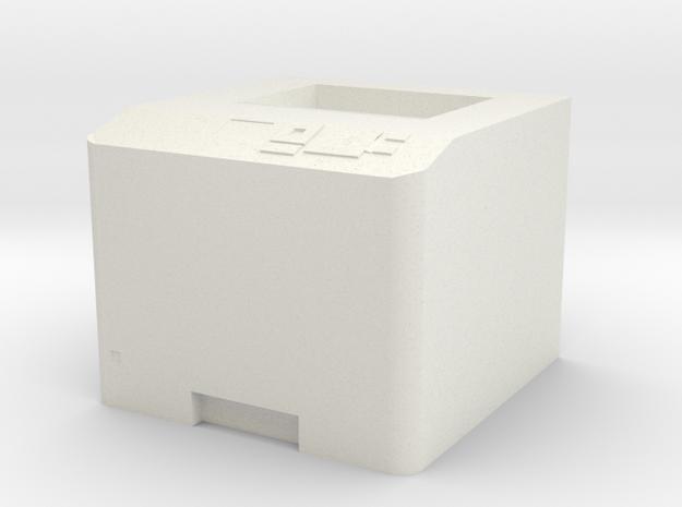 Printer (.05) in White Strong & Flexible