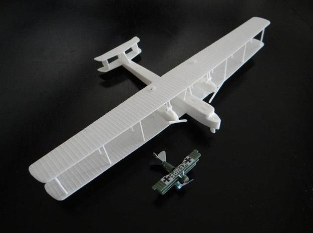 "Zeppelin Staaken R.VI ""Wing Guns"" 1:144th Scale 3d printed"