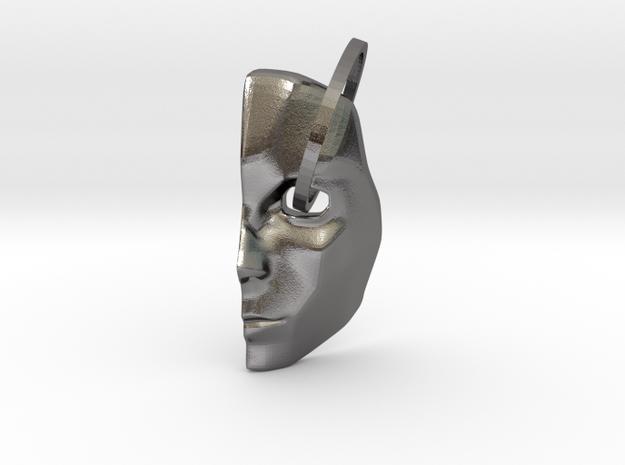 Mask1 in Polished Nickel Steel