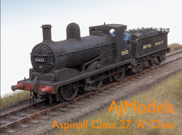 AJModels P03A L&Y A Class 27 for Bachmann Chassis in Frosted Ultra Detail