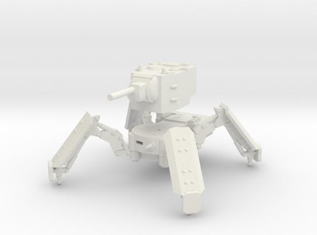 1/100 KV-2 spider tank in White Strong & Flexible