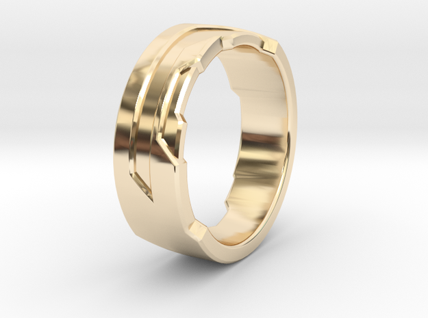 Ring Size X in 14K Yellow Gold