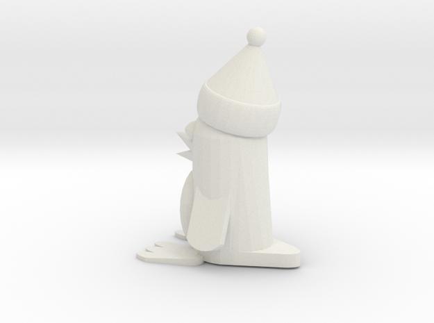 Christmas Penguin in White Strong & Flexible
