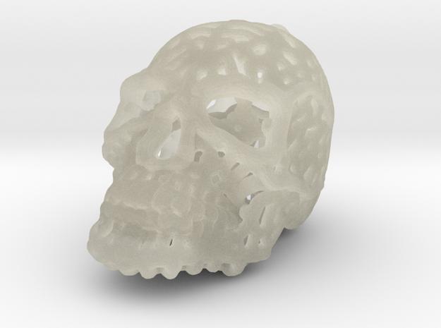 Filigree Sugar Skull Pendant 2