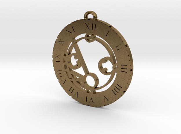 Machaela - Pendant in Natural Bronze