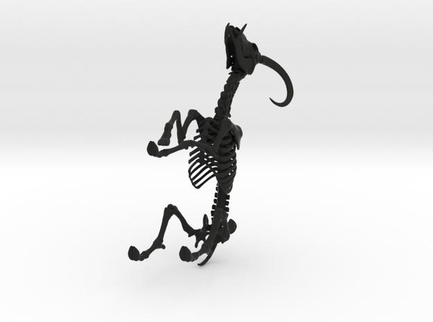 Yale Skeleton 3d printed