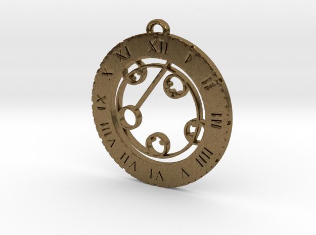 Kylyn - Pendant in Raw Bronze