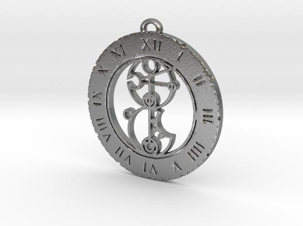 Kira-leigh - Pendant in Natural Silver