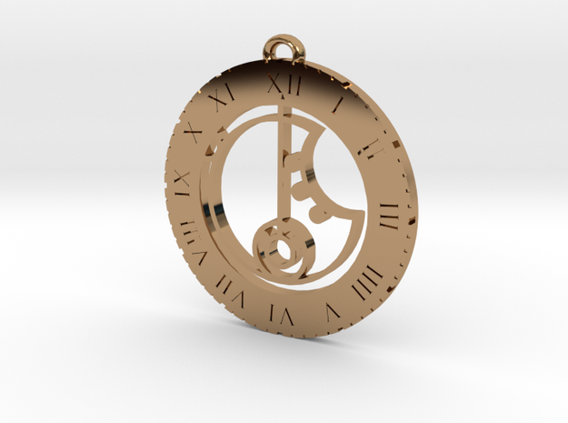 Kira - Pendant in Polished Brass