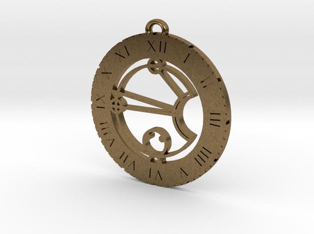 Cassie - Pendant in Natural Bronze