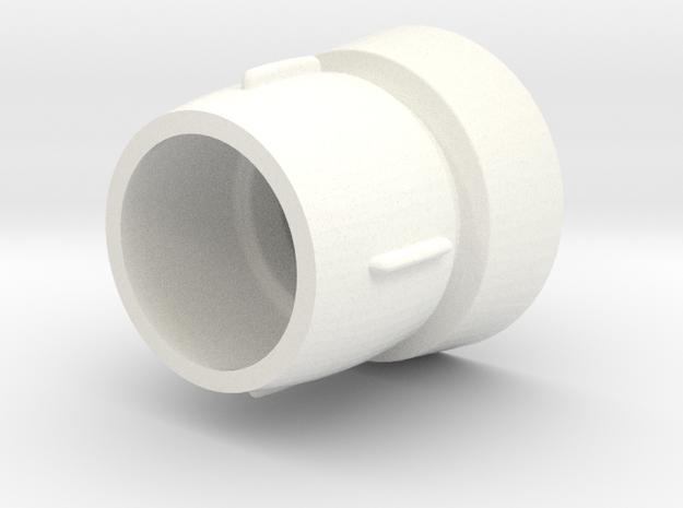 Hovi Mic Tip Scaled 0.8 in White Processed Versatile Plastic