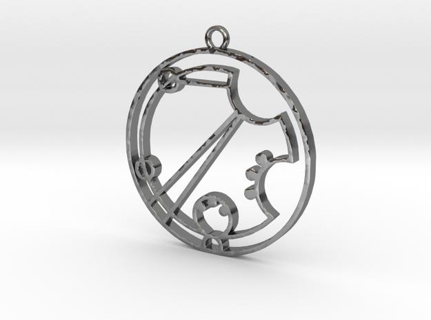 Darcie - Necklace in Premium Silver