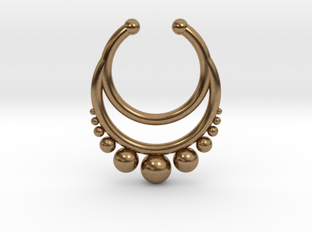Septum dropped ring with spheres under
