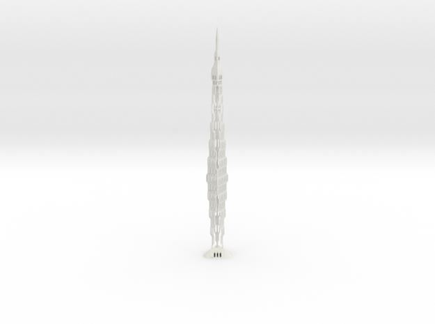 Infinity Tower Dubai 3d printed