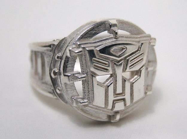 Autobot Ring Size 10