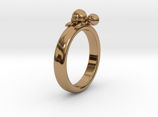 Ring in Polished Brass