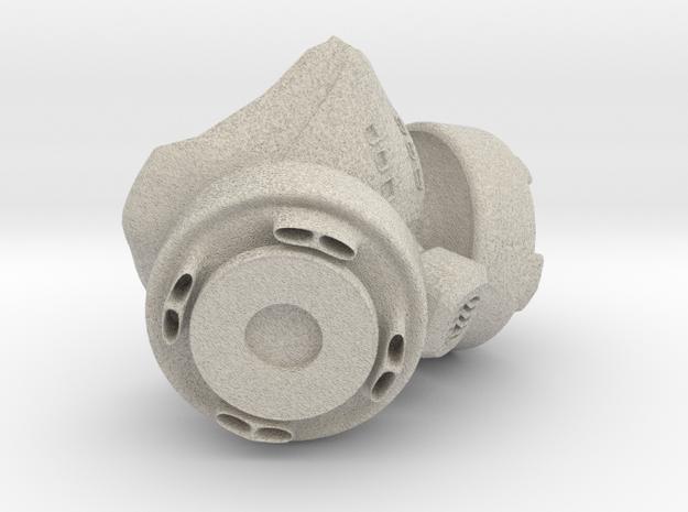 Kidrobot Dunny Gas Mask 3d printed