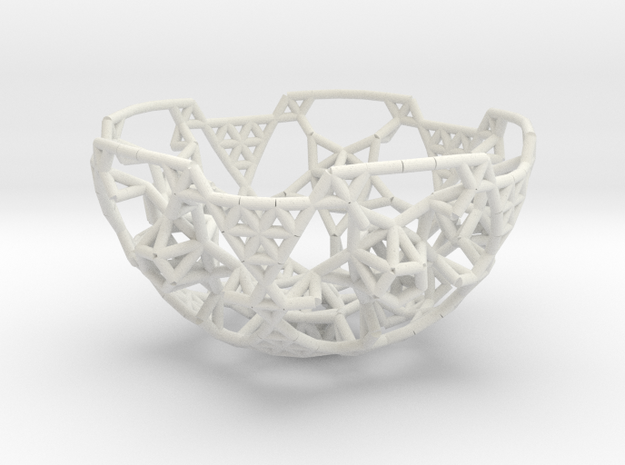 Cell Sphere 6 - Abraham's Orange Juicer in White Natural Versatile Plastic