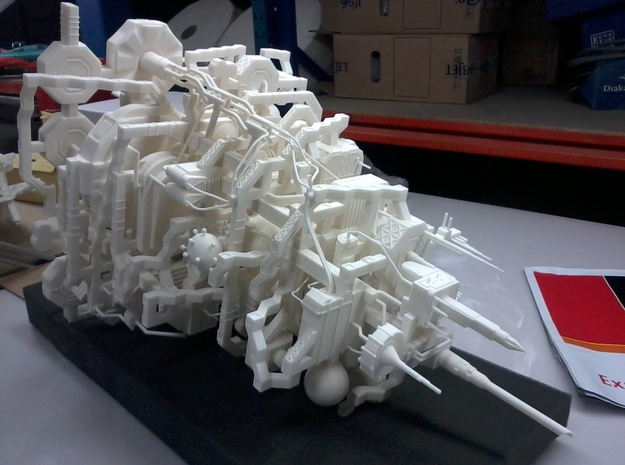 Underground City 3d printed