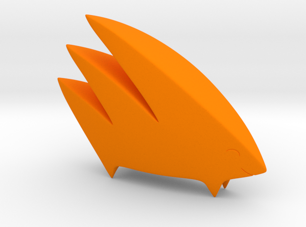 Yamaarashi (Solid) in Orange Strong & Flexible Polished