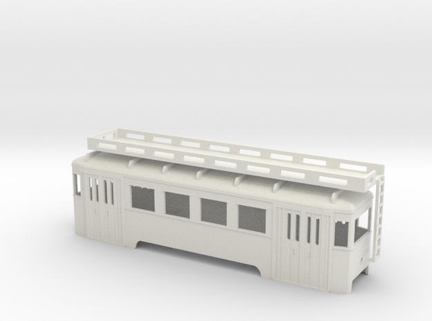 nt Wiener Stadtbahn Arbeitsbeiwagen ohne Gerüst in White Strong & Flexible