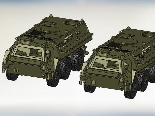 2x TPzFuchs 1:160 in Smooth Fine Detail Plastic