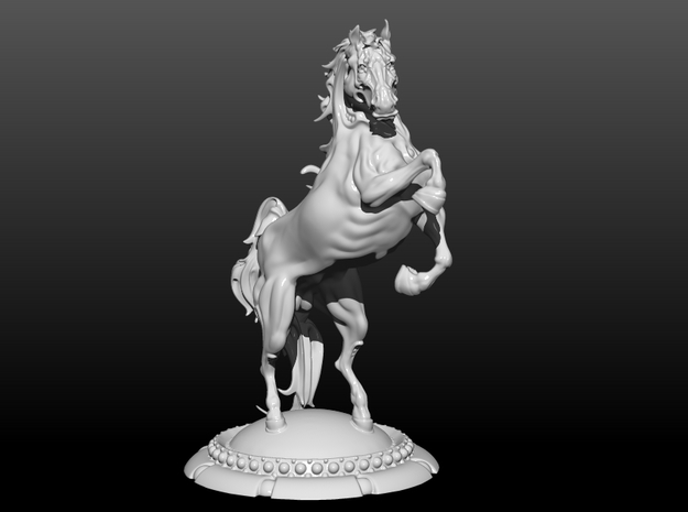 Horse 5.5in/14cm in White Strong & Flexible