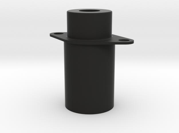 Luft Panel Light in Black Natural Versatile Plastic