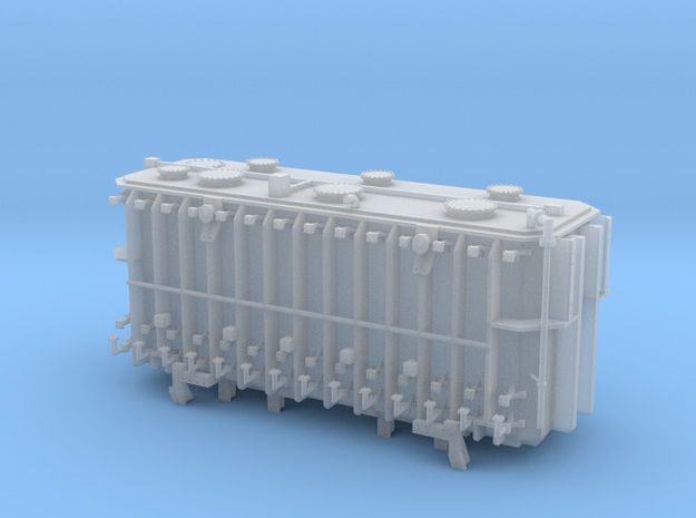 QTTX Transformer 1 Sans Beams in Smooth Fine Detail Plastic