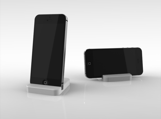 iPhone  5&5s Travelers Stand in White Natural Versatile Plastic