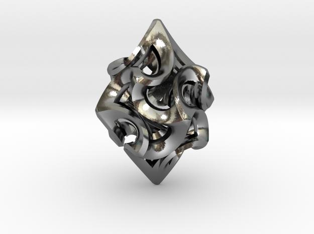 Flame Rhomb Pendant