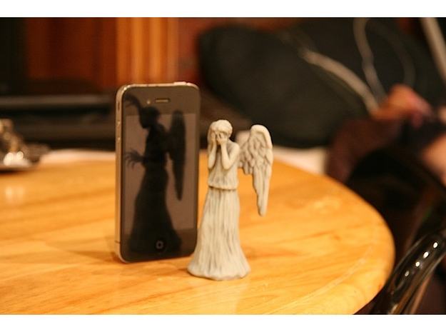 Some Call Me a Weeping Angel.. in Full Color Sandstone