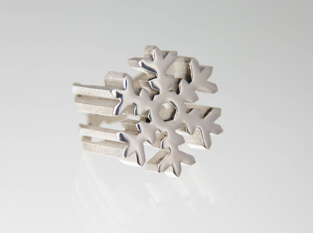 snow flake ring