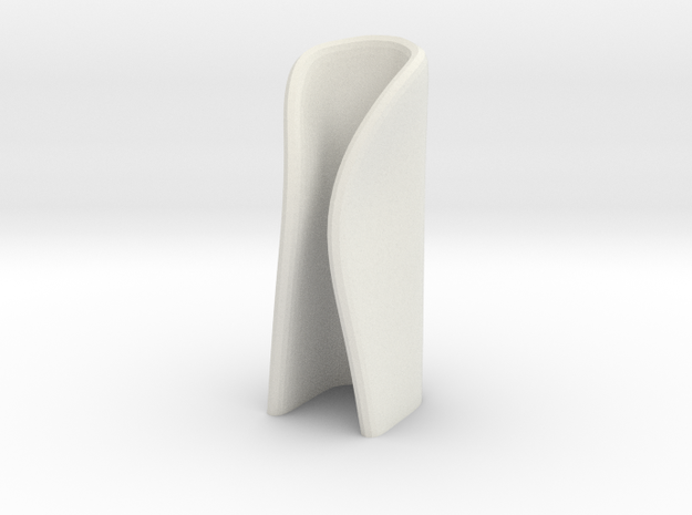candle holder medium in White Natural Versatile Plastic