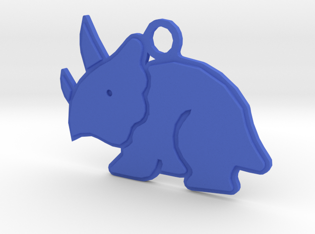 Dino in Blue Strong & Flexible Polished