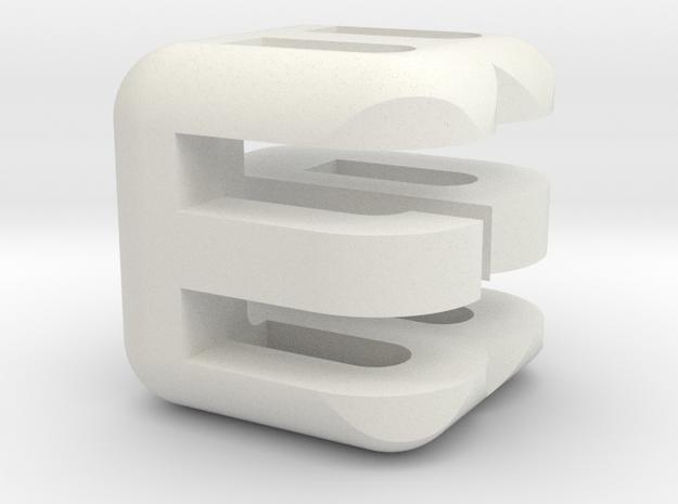 G E B upper (4x4x4) 3d printed