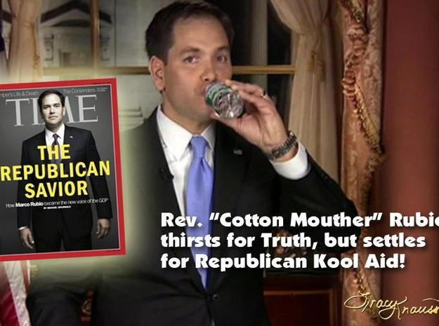 Cotton Mouth Marco Rubio Inaction Figure 3d printed