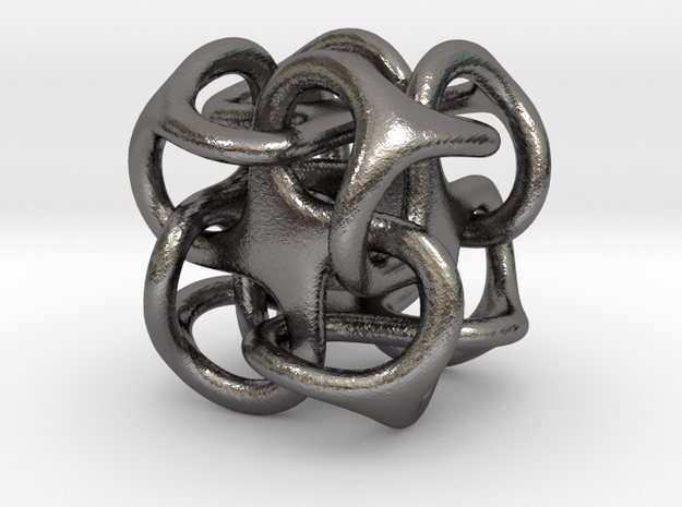 Mini Metatron Cube rounded 3d printed