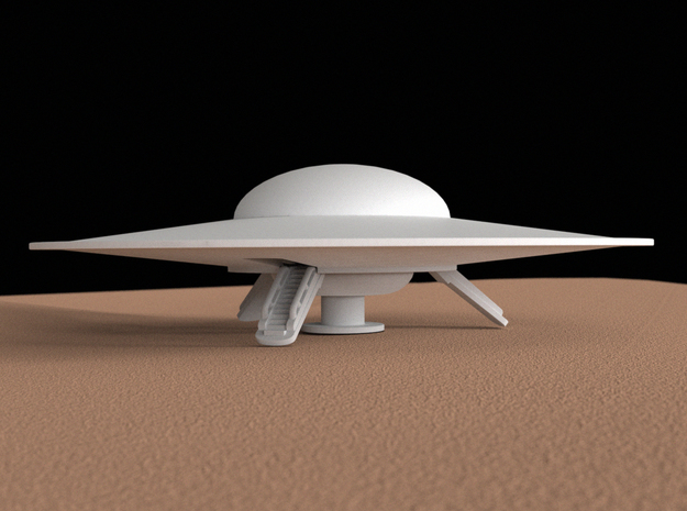 Flying saucer, 100 mm