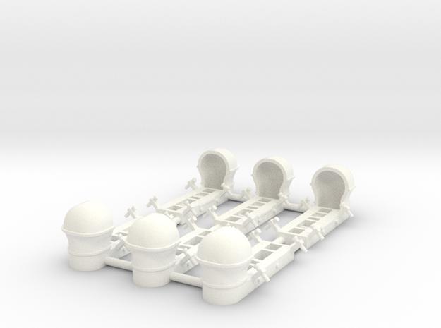 Parapack 1/48th Scale for C-47 Dakota in White Processed Versatile Plastic